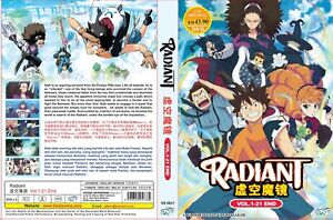 Radiant (Chapter 1 - 21 End) ~ All Region ~ Brand new ~ English Dubbed Version ~