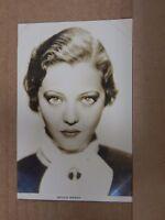 Film Star Postcard Silvia Sidney  Real photo unposted Film weekly series PB