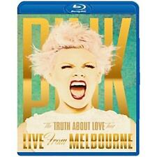 PINK TRUTH ABOUT LOVE LIVE FROM MELBOURNE BLU-RAY ALL REGIONS NEW