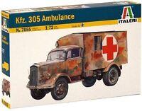 Italeri 1:72 7055: Ambulance Sd.Kfz.305