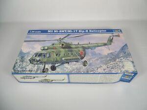 Trumpeter Mil Mi-8MT/Mi-17 Hip-H Helicopter 1:35 Scale Model Kit #05102