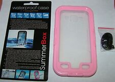 SummerBox Waterproof case for Samsung Galaxy S III, transparent & Pink, NEW