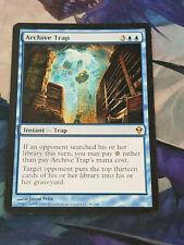 Archive Trap - Zendikar Set Magic the Gathering MTG Nice! #1