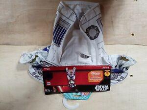 New Star Wars R2-D2 Dog Costume Disney Halloween Size Small NWT A23