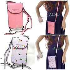 Kate Spade Flap Phone Case Crossbody Bag Wallet WIRU1241 WIRU1301 pink flower