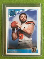 BAKER MAYFIELD ROOKIE CARD RC 2018 Panini - Donruss Baker Mayfield #303 Rated rc