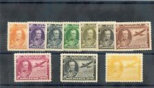 VENEZUELA Sc C206-15(MI 435-44)**VF NH 1944 ANTONIO DE SUCRE SET $180