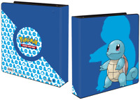 SQUIRTLE POKEMON ULTRA PRO 3 RING OFFICIAL TRADING CARD ALBUM FOLDER BINDER