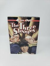 The Three Stooges 4 (2 new 2 open)DVD TV Classics 49Episodes 4 DVD-TV 8 Episodes