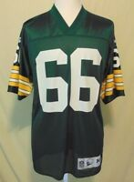 Ray Nitsckke #66 Green Bay Packers NFL Size M Vintage Throwbacks Jersey Mens