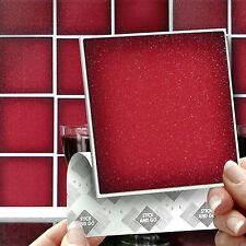 15 STICK & GO Rosso Bastone sul muro tasselli per cucine o bagni, autoadesivo