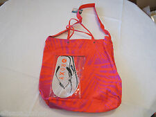 Juniors womens girls Roxy beach pool bag Getaway Canvas Beach Tote FUS NEW*^