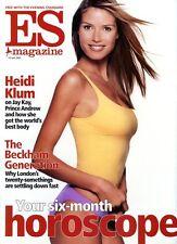 HEIDI KLUM - ES CELEBRITY  MAGAZINE - 14 JUNE 2002