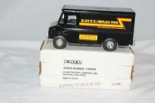 "Ertl Grumman Olson Kurbmaster Van, ""Ertl Replica Toys"" Bank, Black, Mint Boxed."