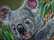 ACEO  Koala animal Australian wildlife print