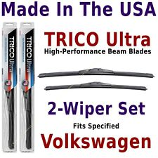 Buy American: TRICO Ultra 2-Wiper Blade Set fits listed VW Volkswagen: 13-24-21