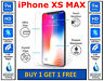 Genuine 100% HD TEMPERED GLASS Screen Protector Cover For APPLE IPHONE XS MAX