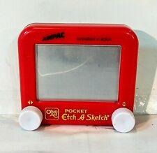 Pocket Etch A Sketch 4 X 3.5 Inch
