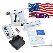 Dental Endo Obturation System Root Canal Gutta Percha Gun Pen tips USPS