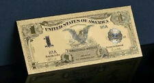"""A ☆<GEM>1899 """"GOLD""""$1 SILVER CERTIFICATE BLACK EAGLE  Rep.*Banknote ~STUNNING ☆s"""