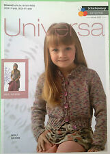 SMC Schachenmayr Universa Knitting Pattern for Girl's Jacket, Dress and Hat