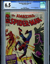Amazing Spider-man Issue #21 CGC 6.5 FN+ Marvel Comics1969 2nd Beetle K13
