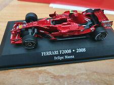 Ferrari F1 F2008 Felipe Massa 2008 - Scala 1:43 - DeAgostini F1 Collection