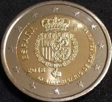 2 euros España 2018 - 50 aniversario del Rey Sin Circular