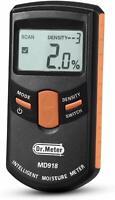 Pinless Wood Moisture Meter Dr.meter Upgraded Inductive Pinless Tools Range4-80%