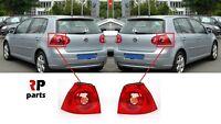 FOR VW GOLF V MK5 HATCHBACK 2003 - 2009 NEW REAR TAIL LIGHT LAMP OUTER PAIR SET