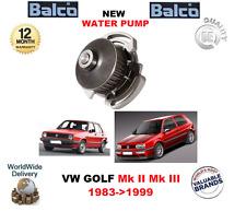 Para VW Golf Mk II 1.0 1.3 Gato Mk III 1.4 1.6 Estate 1983>1999 Bomba de Agua