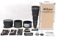 🔴RARE!N MINT🔴 NIKON Ai-S AF-S NIKKOR 600mm F/4D ED IF AF TELEPHOTO LENS W/CASE