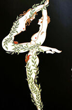 Erte 1972 Ltd. Edition - NUMBER 4 FOUR 1968 - Nude Man and Woman - Print Matted