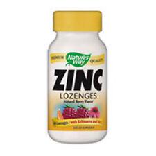 Zinc 60 LOZENGES WITH ECHINACEA & VITAMIN C