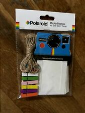 Polaroid KIT Colorful Vintage Frames 2x3 ZINK Paper & 8 pack Polaroid Stickers