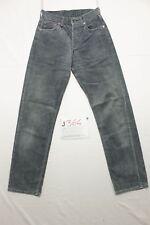 Levi's 551 velluto blu boyfriend jeans usato (Cod.J364) Tg.42 W28 L32