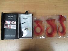 Balmain Paris Double Hair Volume Colour 15cm extension 3pcs Flame Orange / Red