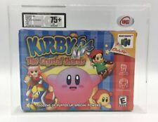 Nintendo Kirby 64 Crystal Shards N64 NTSC 2000 NEW FACTORY SEALED UKG Grade 75+!