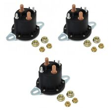 (3) New 12 VOLT HYDRAULIC SYSTEM SOLENOID RELAYS for Buyers SAM 1306317 Snowplow