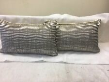 Pkt 2 Zinc Textile Snap Designer Cushions Romo