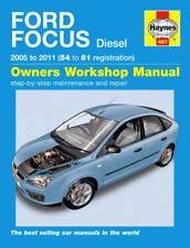 Haynes Workshop Manual Ford Focus 2005-2011 Diesel Service & Repair