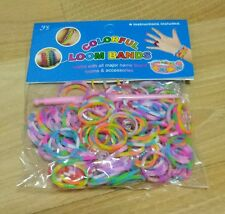 Loom Bands multicoloured with S hook inside - Attic Storage