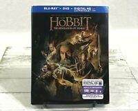 The Hobbit: The Desolation of Smaug (Blu-ray/DVD, 2014, 3-Disc Set) NEW