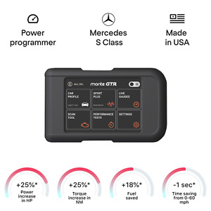 Mercedes S Class tuning chip box power programmer performance race tuner OBD2