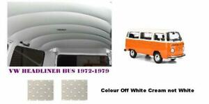 HEAVY DUTY KOMBI 1972-1979 HEADLINER KIT OFF WHITE CREAM