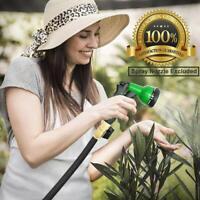 15/25/30 Feet Expandable Flexible Garden Water Hose Brass Retractable Watering
