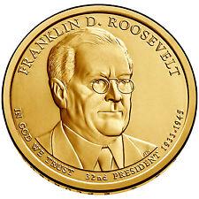 2014 P $1 Franklin D. Roosevelt 32nd U.S. President - BU