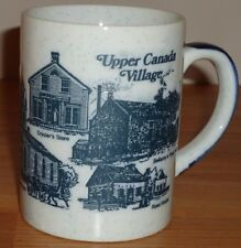 "UPPER CANADA VILLAGE ceramic coffee MUG 3.75""H"