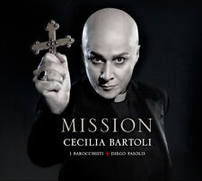 CECILIA BARTOLI Mission 2012 UK vinyl 2LP SEALED/NEW Diego Fasolis I Barocchisti