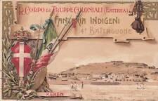 9416) ERITREA REGIO CORPO TRUPPE COLONIALI 4 BATTAGLIONE FANTERIA INDIGENI KEREN